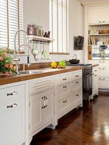 מטבח פרובנס בצבע לבן