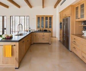 דוגמה למטבח אנגלי בעיצוב מודרני