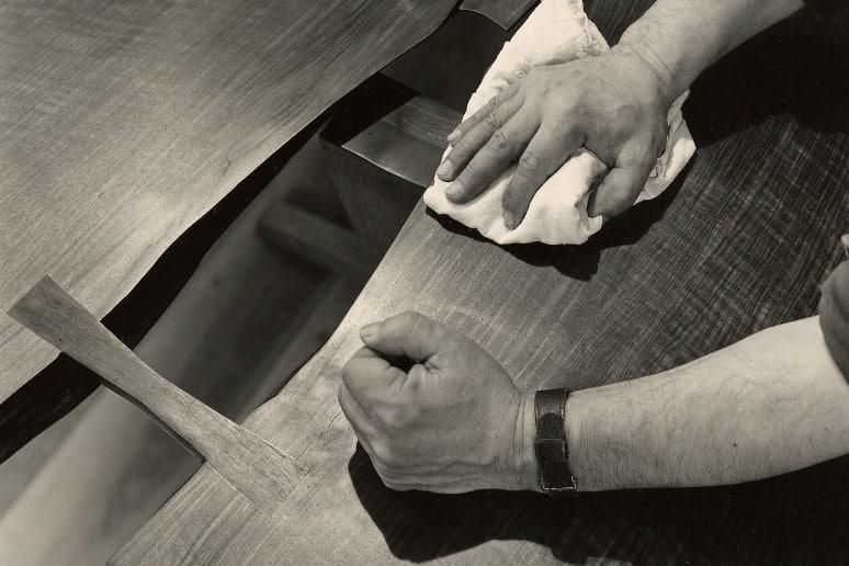 עבודה על עץ טבעי - נגרות יפנית