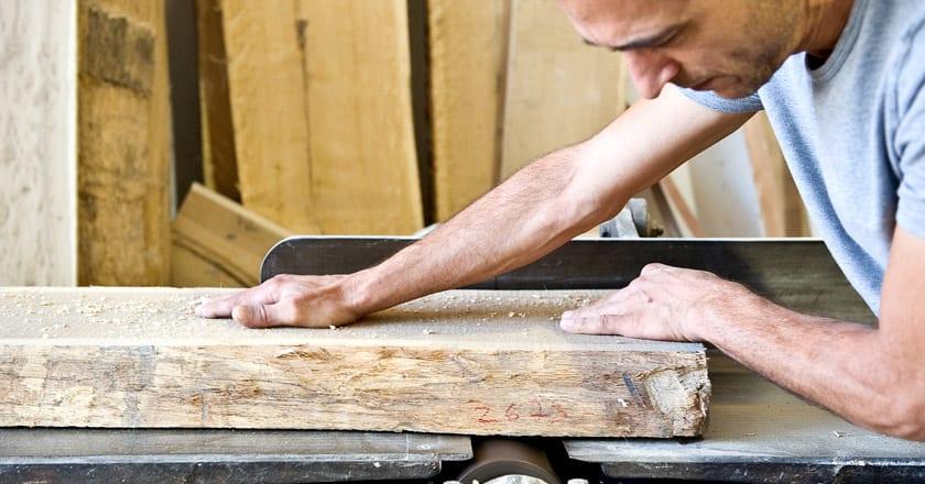 מטבח בעבודת יד של נגר
