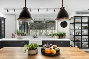 מטבח מודרני אפור